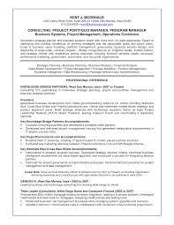 Resume Portfolio Manager Resume