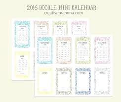 Free Pocket Calendar Template 2015 Poporon Co