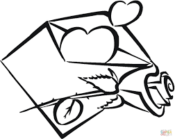 Small Picture Heart with Wings coloring page Free Printable Coloring Pages