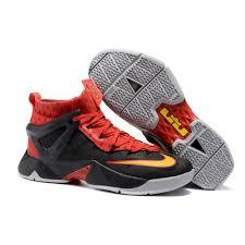 lebron shoes soldier 8. nike lebron james soldier viii 8 black red basketball shoes for men