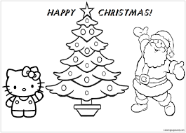 Resultado de imagen para christmas coloring sheets