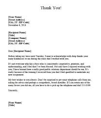 Thank You Letter Examples Of Thank You Letters To Employers Letters Free Sample 8