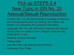 Venn Diagram Of Asexual And Sexual Reproduction Asexual Reproduction