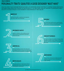 personality traits qualities a good designer must have personality traits qualities a good designer must have infographic infographic