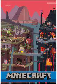 J!nx - Poster Minecraft - Sam Cube 60 x ...