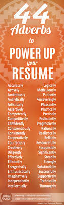 Buzz Words For Resumes Use Effective Powerful 2019 Resume Buzzwords Resume 2018