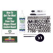 Magna Visual Chart Tape Melamine Board Accessory Kit
