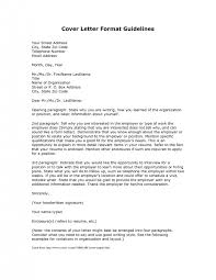 Cover Letter Format For Email Cover Letter Format For An Email Cover