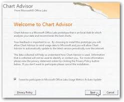 Chart Advisor Create Charts In Excel 2007 The Easy Way With Chart Advisor