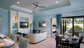 layered lighting. Light Blue Walls Rendering Living Interior Design With Inspiration Ideas For Layered Lighting 1