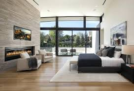 modern bedroom with tv. Master Bedroom With Tv This Sensational Modern Features Simple Clean Lines Complementary Charcoals And M