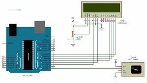arduino rfid reader figure 1 arduino rfid reader circuit diagram
