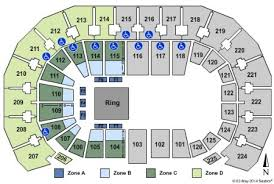 Intrust Bank Arena Seating Chart For Wwe Intrust Bank Arena Tickets And Intrust Bank Arena Seating
