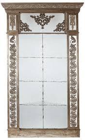mercury glass mirror large