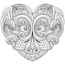 love coloring pages pdf heart coloring page unique heart coloring pages for love heart coloring page