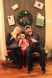 Christmas Booth Ideas Crafty Texas Girls Tacky Sweater Party And Diy Photo Booth