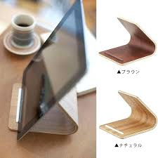 awesome wood tablet stand x9700217 diy wood tablet stand