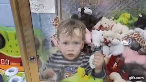 Child In Vending Machine Cool Game Over Toddler Gets Trapped Inside Toyclaw Arcade Machine