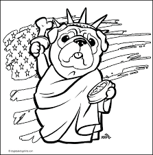 pug coloring page pages on puppy coloring pag
