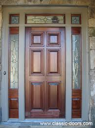 mahogany door with beveled glass image home