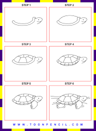 Small Picture 052 how to draw turtle for kids step by stepgif 7351000 pixels