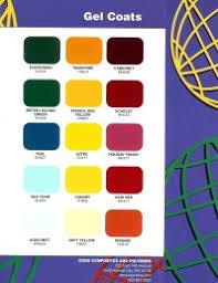 Easypoxy Color Chart Gelcoat Colour Chart Gel Coat Boat Paint Colors