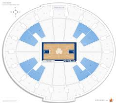 Notre Dame Seating Chart With Seat Numbers Joyce Center Notre Dame Seating Guide Rateyourseats Com