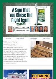 Newletter Example Sample Newsletters Homeactions