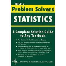 statistics problem solver by research education association