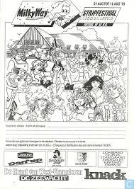 Kleurplaat Stripfestival Middelkerke Kleurplaat Catawiki