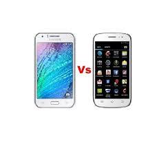 Samsung Galaxy J1 Vs Celkon AR50 ...