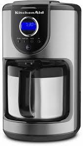 kitchenaid thermal carafe coffee maker onyx black kcm112ob