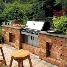 view in gallery a spacious outdoor kitchen setup