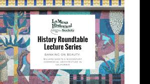 history roundtable lecture series banking on beauty