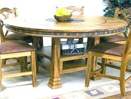 round table with lazy susan dining room for tables adjule