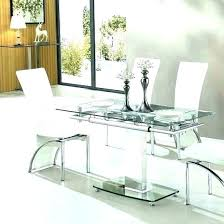 dining room tables extendable extendable glass dining table expandable glass dining tables expandable glass dining room