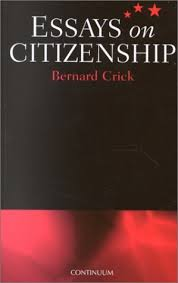 essays on citizenship by bernard crick