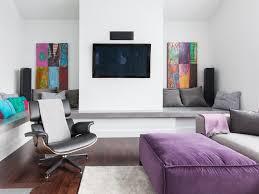 Purple And Gray Living Room Antique Mirror Coffee Table Purple Velvet Silk Lampshade Glamorous
