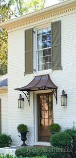 front door awningsCopper Awnings Awning Front Door Glass Over Dome Designs Copper