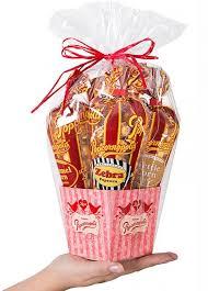 love case of 6 mini gift baskets