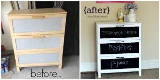 laminate furniture makeover. Dresser Before And After| Simplykierste.com Laminate Furniture Makeover Simply Kierste