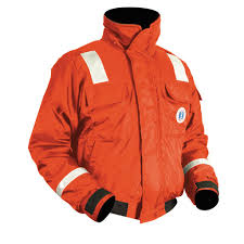 Classic Flotation Bomber Jacket with Reflective Tape | Mustang