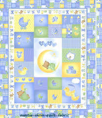 Easy Panel Baby Quilt Kit Sleepy Time Fabric Boys Blue Bear Ducks ... & Easy Panel Baby Quilt Kit Sleepy Time Fabric Boys Blue Bear Ducks |  auntiechrisquiltfabric - Quilts Adamdwight.com