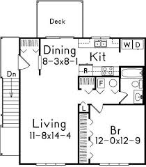Craftsman GarageApartment Plan GAR781AD Sq Ft  Small Budget Garage With Apartment Floor Plans