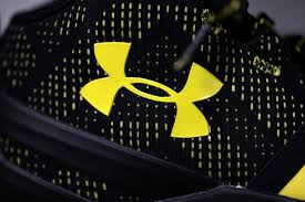 nike shoes logo pictures. the under armour logo is displayed on new stephen curry basketball shoe in san rafael nike shoes pictures