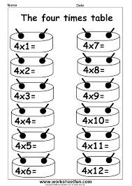 multiplication times table practice 2 12 printable worksheets 3