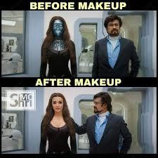 before after make up meme tamil memes