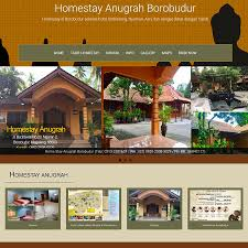 Anugrah Hotel Anugrah Borobudurcom Website Portofolio