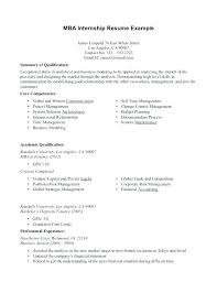 Internship Objective Resume Internship Objective Resume Intern ...