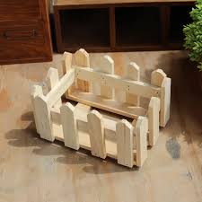 Decorative Planter Boxes Natural Rectangle Wood Flower Holder Box Wooden Organizer For 69
